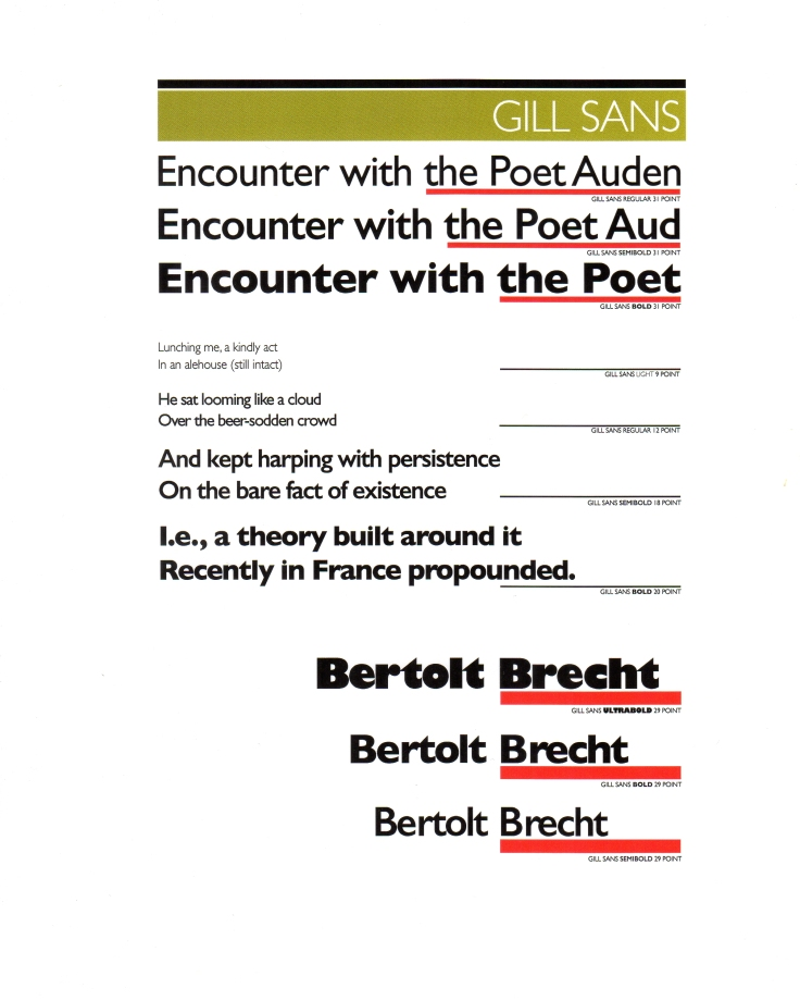 16 Corris Bertolt Brecht's 'Encounter with the Poet Auden'