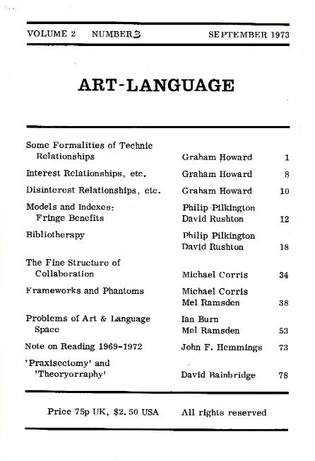 A-L Journal 1973